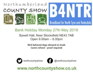 B4NTR with us at the Northumberland County Show!